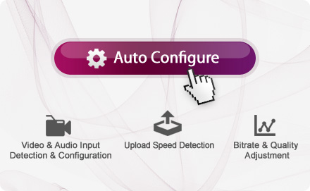 Auto-Configurate Button