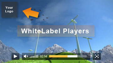 White-Label Streaming Video Player (Private) Branding